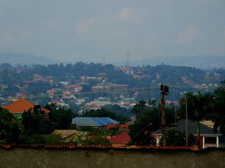 View from Kasubi, Kampala, Uganda