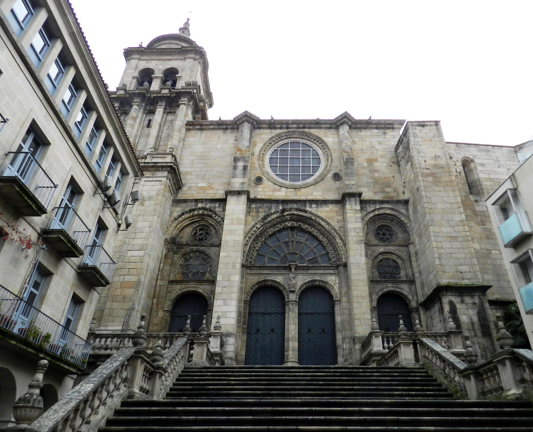 Exterior Catedral San Martin Orense
