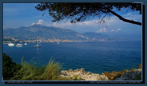Alpes-Maritimes, Roquebrune Cap Martin