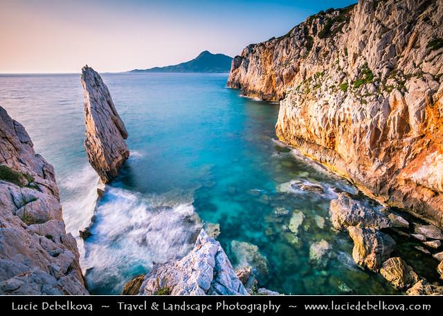 Italy - Sardinia - Costa Verde - Buggerru Spectacular Rocky Coast
