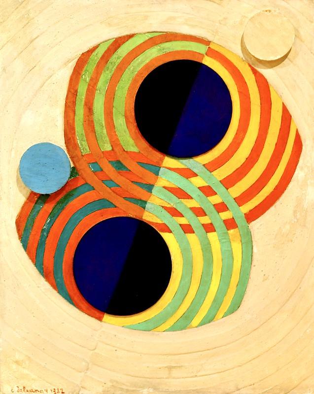Relief, Rhythms (1932) - Robert Delaunay (1885 - 1941)