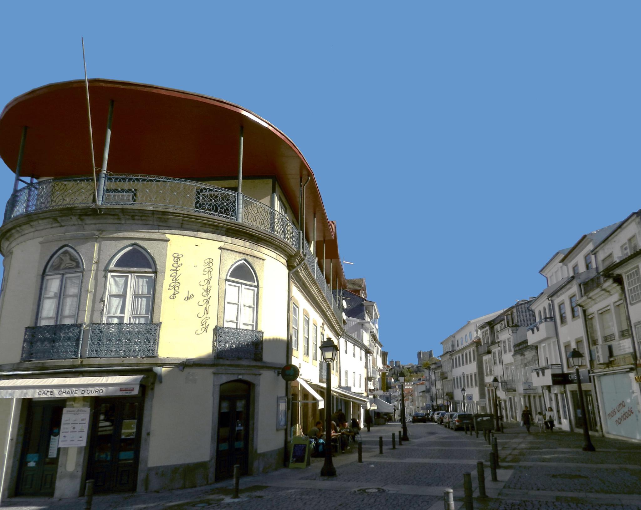 Rua de la Republica Braganza Portugal