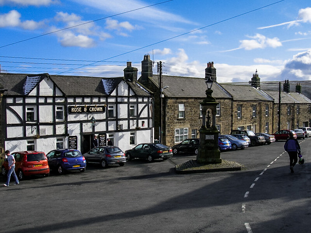 Cycle Tour of North Pennines - Bellingham village