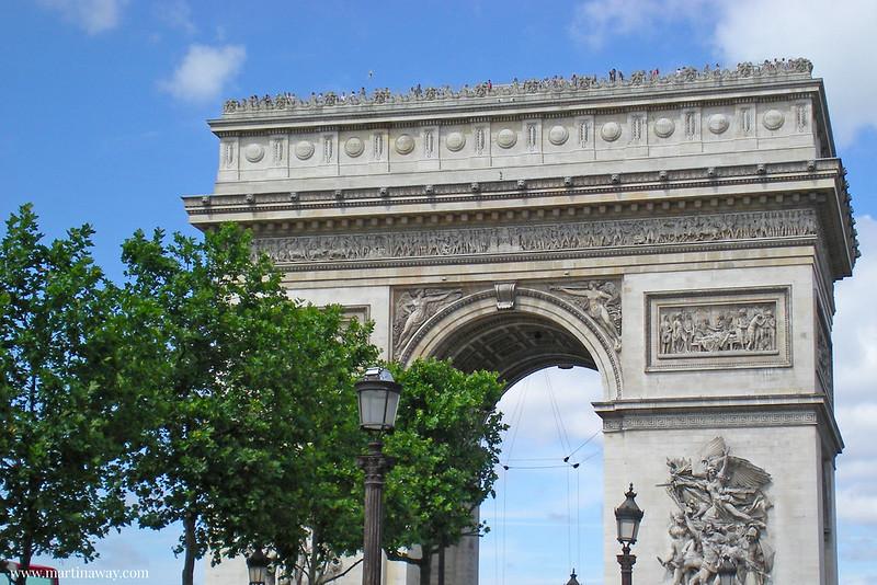 Cosa vedere a Parigi: Arc de Triomphe.