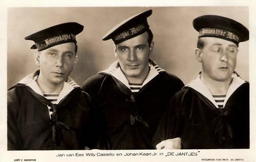 Jan van Ees, Willy Costello, Johan Kaart jr.