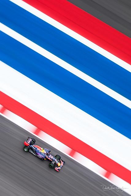 Daniel Ricciardo from Above