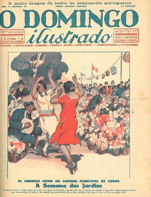 Capa de jornal antigo   portuguese old newspaper cover   1926