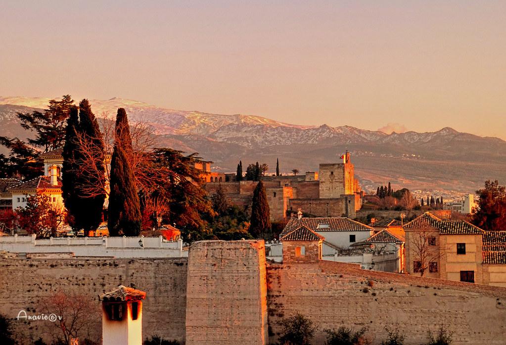 Sunset in Granada