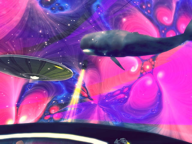 Intermudia - Flying Whales and Saucers..