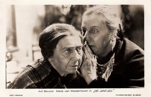 Aaf Bouber and Marie van Westerhoven in De Jantjes (1934)