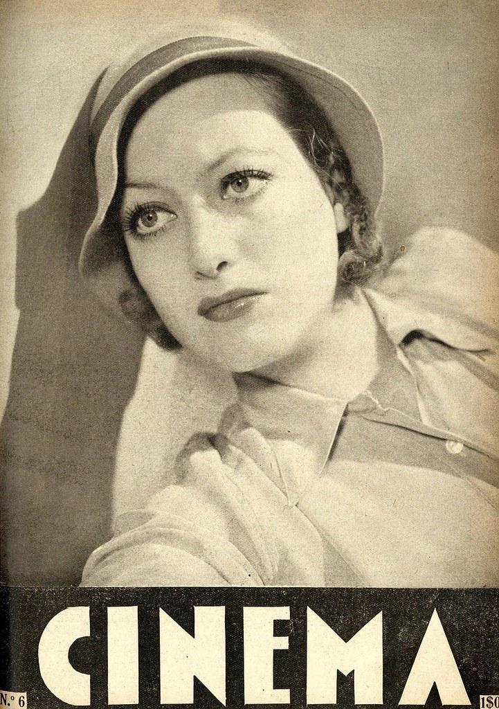 Capa de revista antiga | old magazine cover | Joan Crawford | 1932