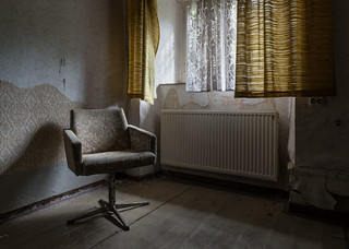 Wheelchair Nursing Home Abandoned in Germany