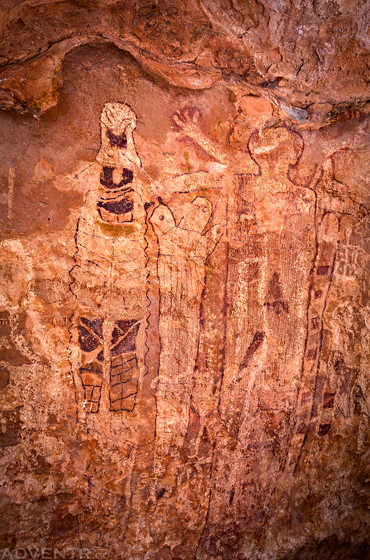 Shaman's Gallery Pictographs