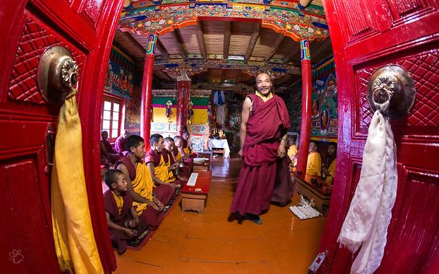 Lingshed monastery school