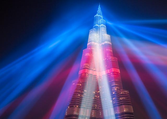 Burj Khalifa - Tricolor