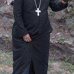 Armenian apostolic priest at Dadivank monastery