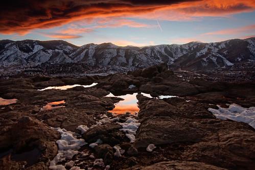 golden colorado unitedstates us sunset scenic landscape denver