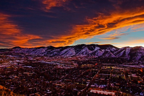 landscape sun scenic denver golden colorado unitedstates us