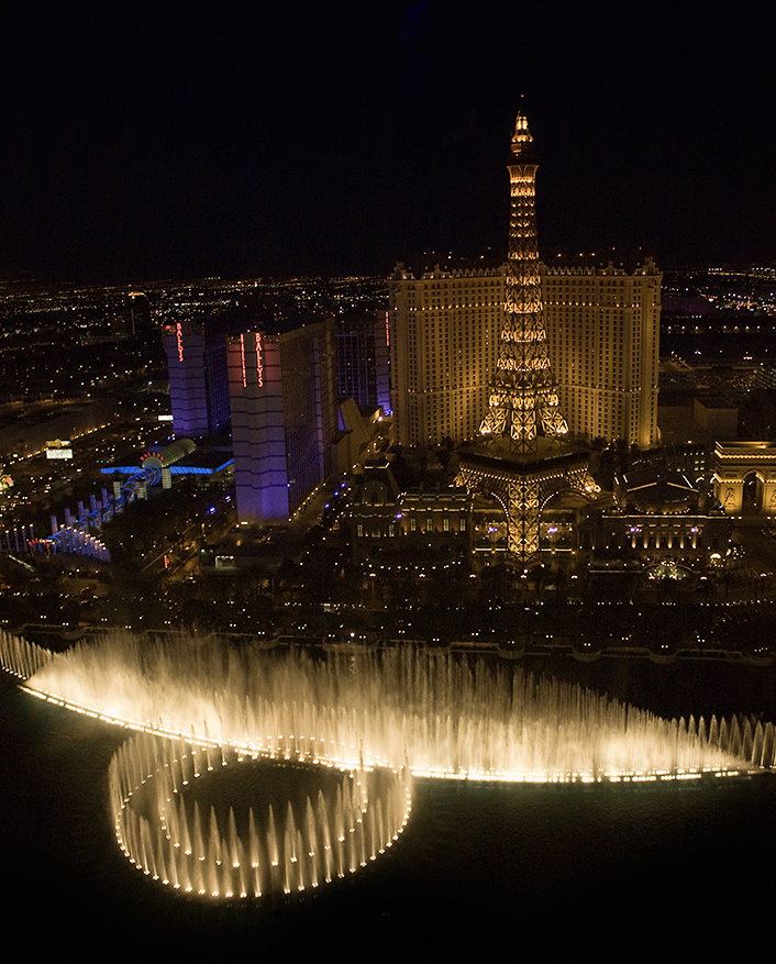 Bellagio Dancing Water Fountains