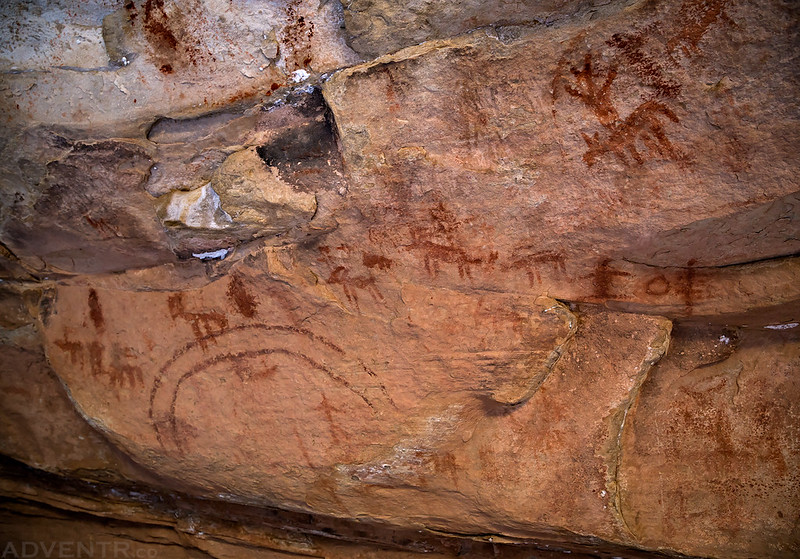 Ute Pictographs