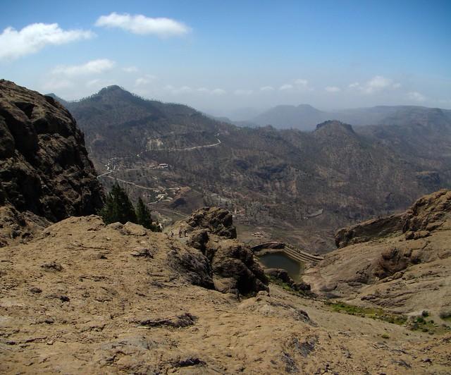 Senderismo Gran Canaria Llanos de la Pez Cruz Grande 15