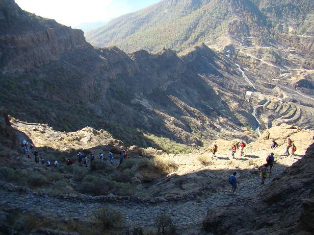 Senderismo Gran Canaria Llanos de la Pez Cruz Grande 19