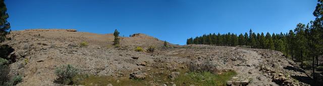 Senderismo Gran Canaria Llanos de la Pez Cruz Grande 13 panoramica