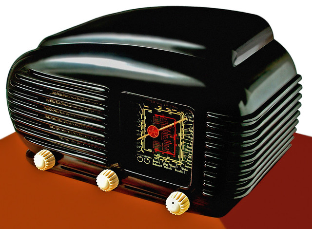 Bakelite radio Tesla 308U  Talisman Czechoslovakia
