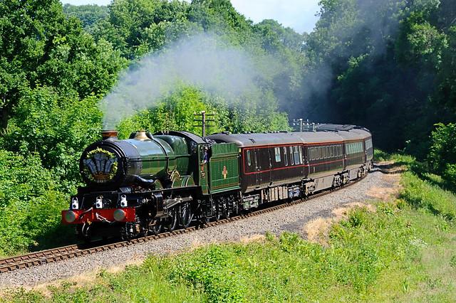 King Edward on the Royal Train