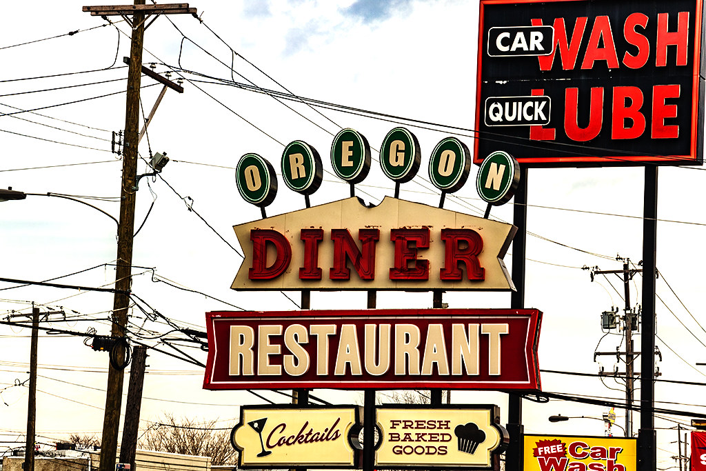 OREGON DINER--Oregon Avenue