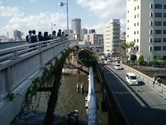Osaka pedestrian bridge