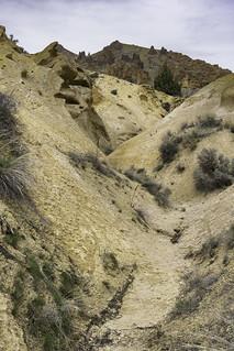 Yellow sand road