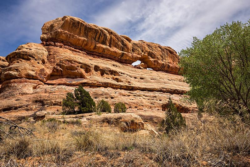 Pollys Canyon Arch