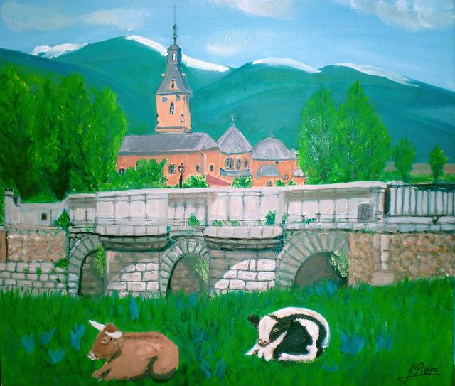 Monasterio del Paular y Puente del Perdón ,Rascafria ,en LA SIERRA deMADRID,