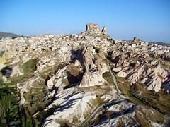 viaje en globo vistas de Uchisar Capadocia Turquia 34