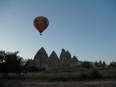 viaje en globo vistas del Parque Nacional de Goreme Capadocia Turquia 08