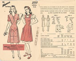 Advance 1944 3711 USDA apron red