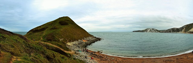 Worbarrow Bay Panorama. Nikon D3100. DSC_0112-0124.