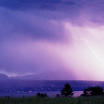 Lightning Over Lake Geneva