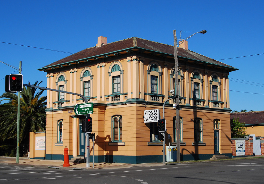 Building, East Maitland, NSW.