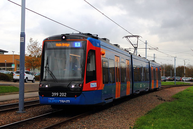 Stagecoach Supertram 399202