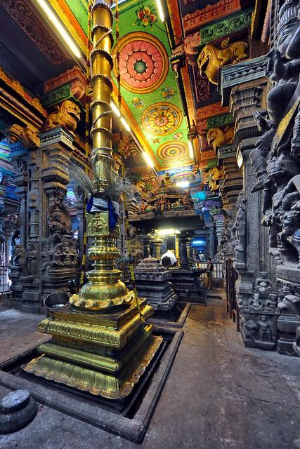 India - Tamil Nadu - Madurai - Meenakshi Amman Temple - 120