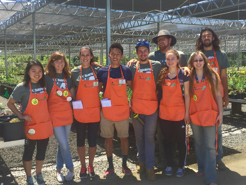 Nursery Management and Propagation student interns
