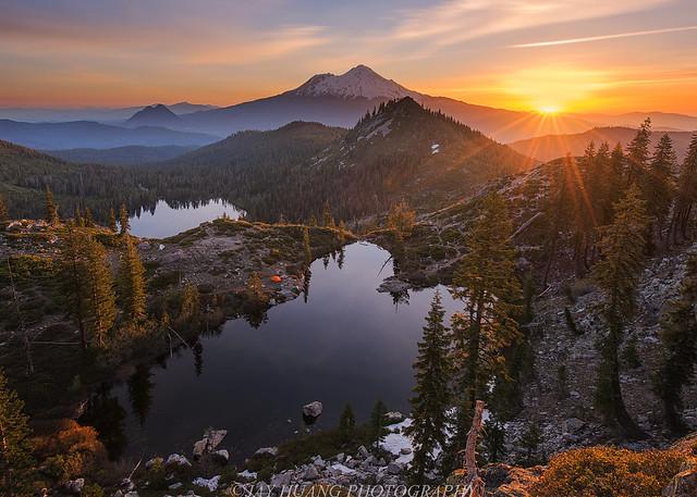 Heart Lake Sunrise