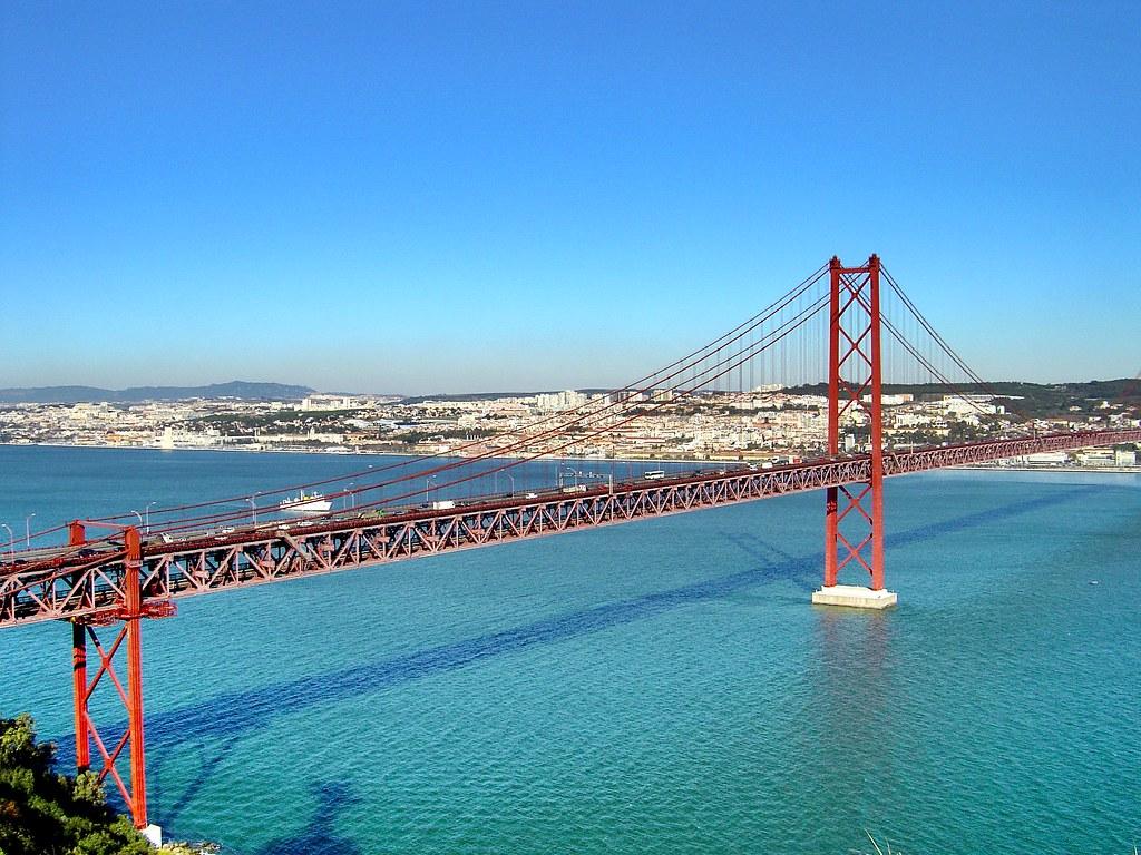 Ponte 25 de Abril - Portugal | A Ponte 25 de Abril, também c… | Flickr