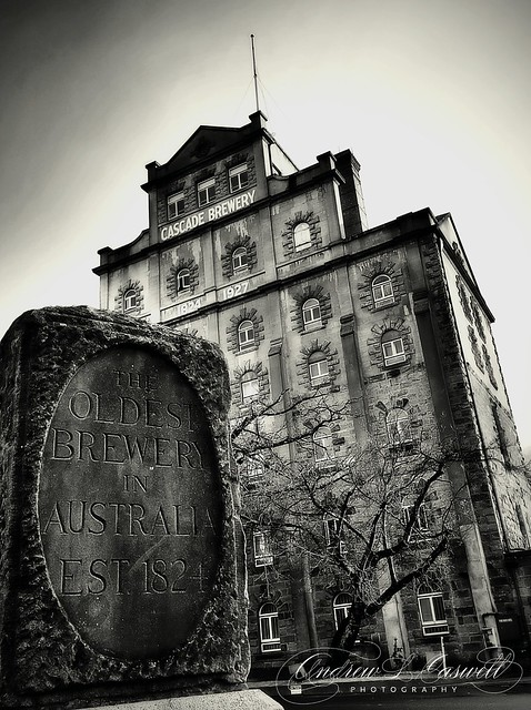 Cascade Brewery. The oldest brewery in Australia  Colour or Monochrome?