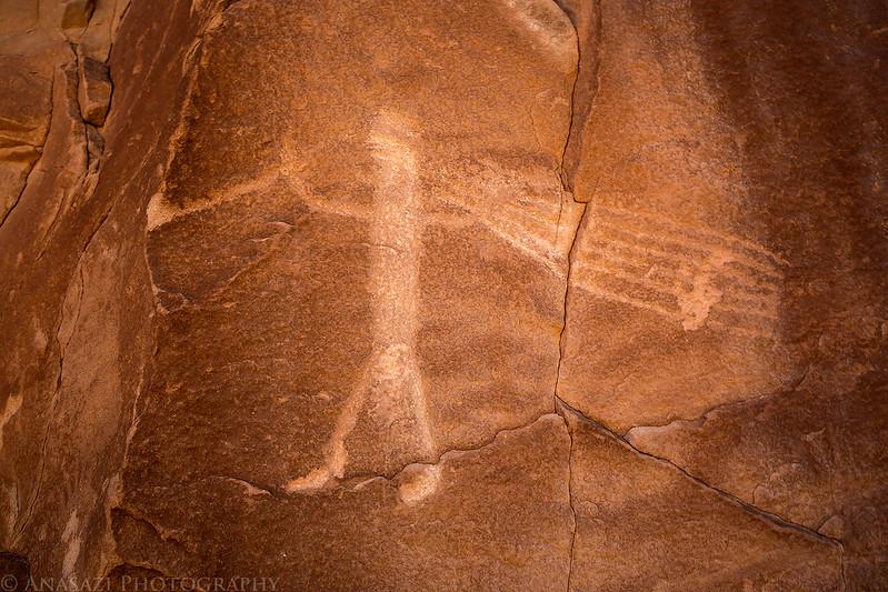Gunnison River Petroglyph
