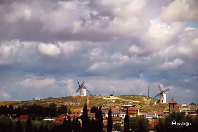La aventura de los molinos de viento