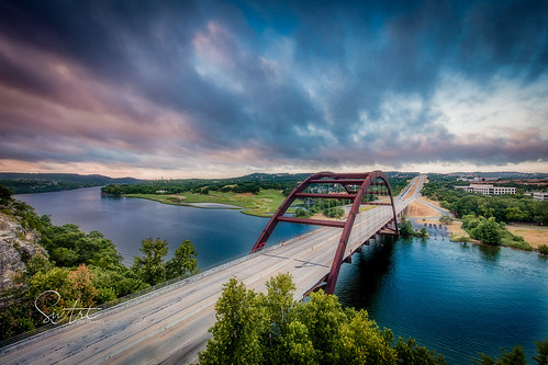 360bridge sunrise austin texas bridge structures
