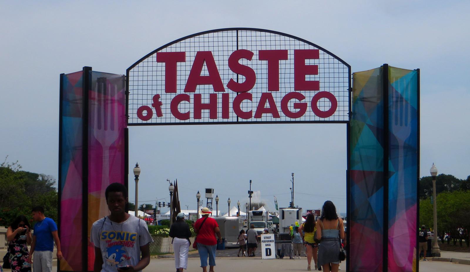 Taste of Chicago, Grant Park, Chicago, Illinois